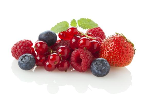 verschiedene Beerenfrüchte