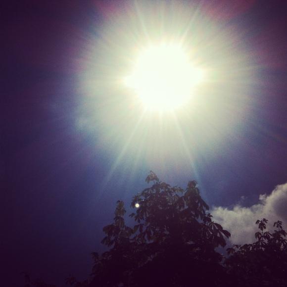 Bild Sonne Bern